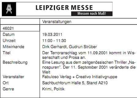 Leipziger Buchmesse 2011